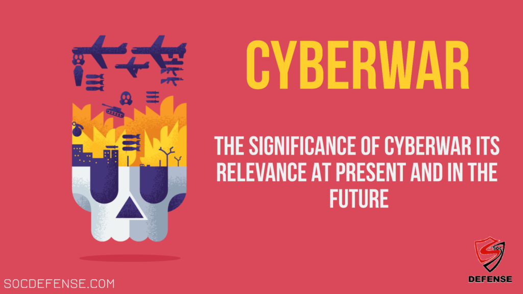 Cyberwar or Cyberwarfare